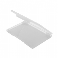 Plastic Business Card Box - Clear / Transparent